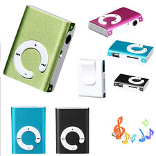 Mini Clip Metal USB MP3 Player Music Media Player Support Micro SD TF Card Gifts