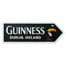 Guinness toucan road sign vinyl sticker 170mm x 65mm Dublin Ireland decal