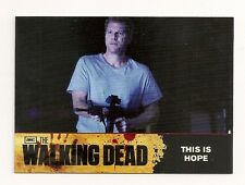2011 CRYPTOZOIC THE WALKING DEAD SEASON ONE BASE CARD #67 THIS IS HOPE