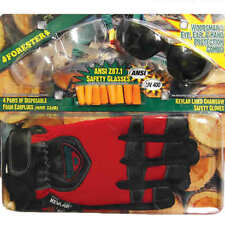 Forester Kevlar Chainsaw Gloves w/ Glasses & Ear Plugs (X-Large)