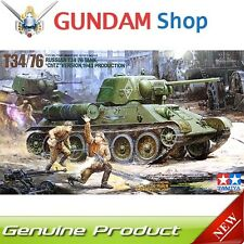 TAMIYA Russian T34/76 Tank ChTZ Version 1943 Prod. 1/35 Series No. 35149 JAPAN
