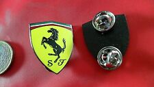 Original Ferrari Logo groß double Butterfly Badge Pin Badge