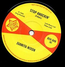 "JUANITA NIXON Stop Knockin' NEW NORTHERN SOUL 45 (OUTTA SIGHT) R&B MOD 7"" VINYL"