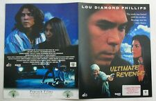 ULTIMATE REVENGE - AFFICHETTE  SYNOPSIS - LOU DIAMOND PHILLIPS /SALLI RICHARDSON
