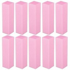 10Pcs Buffing Buffer Block Files Acrylic Pedicure Sanding Manicure Nail Art Tips