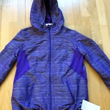 Lululemon Downtime Jacket Size 8 Bruised Berry