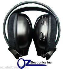 IR Headphones wireless Compatible with Alpine Toyota Klugar Holden car DVD syst
