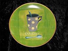 Striking Hand Painted Display Plate 'ORIENTAL ACCENT' EARL GREY TEA