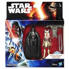 Disney star wars rebelles darth vader et ahsoka tano 2 pack action figures