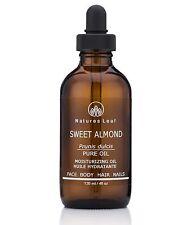 Sweet Almond Oil Organic 100% Pure Cold Pressed non-GMO 4 fl oz