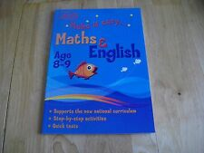 LETTS MAKE IT EASY MATHS & ENGLISH KS2 AGE 8-9 KEY STAGE 2 ACTIVITIES QUICK TEST