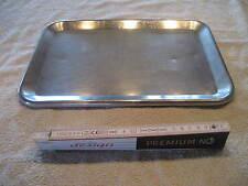 Edelstahl Verkaufsschale Schale Gastro Tablett ca 34 x 24 x 1cm Servierplatte 85