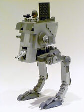 "LEGO Star Wars ""AT-ST WALKER"" 7657 RARA pilota Pupazzetto 100% completo di garanzia"