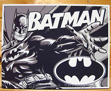 Batman Duotone TIN SIGN dc comics superhero poster retro metal wall decor 1731