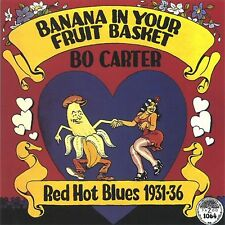 BO CARTER Banana In Your Fruit Basket RED HOT BLUES 1931-36 SEALED 180 Gram LP