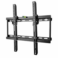 SLIM TILT TV WALL BRACKET MOUNT FOR PLASMA LED LCD 26 32 34 37 40 42 46 48 50 55