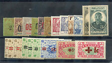 FRENCH REUNION  1893-1970 49 DIFFERENT ITEMS*F-VF OG/LH/HR $85