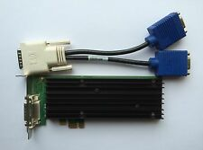 SFF HP 458707-002 460815-001 NVS 290 P558 256MB PCIE x1 VGA SPLITTER WINDOWS 8