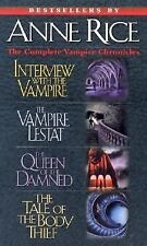 Anne Rice: The Complete Vampire Chronicles:  Box Set of 4 Paperback