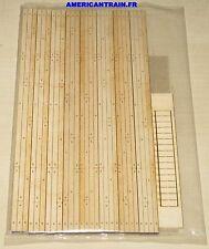 Passage à niveau découpe laser / Laser Cut droit 3 rails