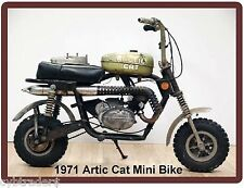 1971 Artic Cat Mini Bike  Refrigerator / Tool  Magnet