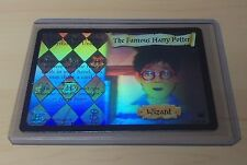 Ultra Rare Foil THE FAMOUS HARRY POTTER from DIAGON ALLEY Set (2002)