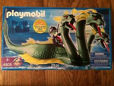Playmobil 4805 Three Headed Sea Serpent New in Box!
