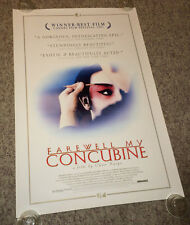 FAREWELL MY CONCUBINE Orig Movie Poster 1993 Chen Kaige Gong Li Chinese Drama