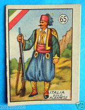figurines cromos figuren figurine v.a.v. vav la guerra nostra 65 italia albania