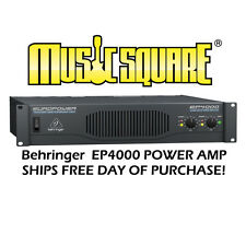 Behringer EuroPower EP4000 Power Amp Euro Power EP 4000 PERFECT-FREE SHIP!
