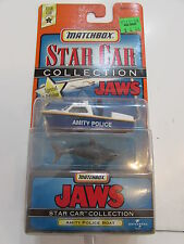 MATCHBOX STAR CAR COLLECTION SERIES 2 JAWS AMITY POLICE BOAT
