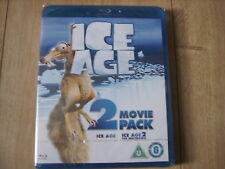 ICE AGE + THE MELTDOWN TWO DISC COMBO BLU RAY MOVIE BOX SET KIDS FAMILY CHILDREN