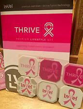 Le-Vel THRIVE DFT PINK Limited Edition Pack of 30 Skin Patches NEW Weight Mgmt