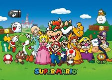 SUPER MARIO (ANIMATED) GIANT WALL POSTER 140cm x 100cm