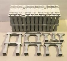 29 Fisher Price Geotrax Grey Stacking Bridge Elevation Track Riser Support