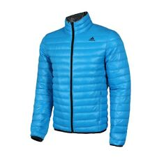NEW Originals ADIDAS men's L LG Down coat AC3298 Hiking Down JACKET LIGHT BLUE