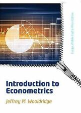 Introduction to Econometrics by Jeffrey Wooldridge (Paperback, 2013)