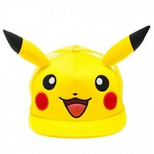 OFFICIAL POKEMON PIKACHU FACE WITH EARS TRUCKER SNAPBACK CAP *BRAND NEW*