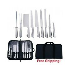 Chef Knives Set Professional Kitchen Knife Cutlery for Food Prep Excellence