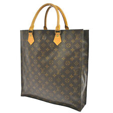 AUTHENTIC LOUIS VUITTON SAC PLAT HAND TOTE BAG PURSE MONOGRAM M51140 13984js