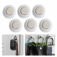 6pcs Magnetic Key Rack Wall Mount Key Holder Home Office Fridge Keychain Hanger