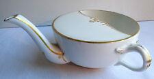 Biberon de malade, Canard porcelaine de Limoges doré à l'or fin, style Louis XV