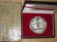 1988 CHINA(PRC)$100 Yr.Dragon 12 oz SILVER coin WITH BOX
