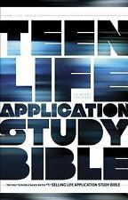 Teen Life Application Study Bible NLT (2012, Hardcover)