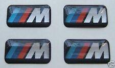 4 genuine BMW M Tec Alloy Wheel sticker badge M3 M5 E36