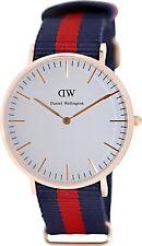 Daniel Wellington Women's Oxford 0501DW White Nylon Quartz Watch