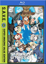 Strike Witches: The Complete Second Season (Blu-ray/DVD, 2012, 4-Disc Set)