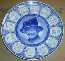 Wedgwood TO CELEBRATE THE QUEEN 80TH BIRTHDAY Calendar Collectors Plate