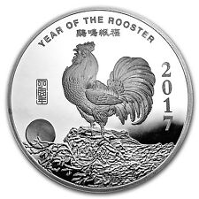 10 oz Silver Round - APMEX (2017 Year of the Rooster) - SKU# 101672