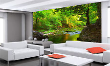 Green Forest Wall Mural Photo Wallpaper GIANT WALL DECOR PAPER POSTER